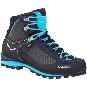 SALEWA Crow GTX Chaussures Femme, premium navy/ethernal blue